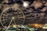 Sky Wheel at Midnight by Mvillian, photography->city gallery