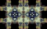 Alien Cornerman by Flmngseabass, abstract gallery