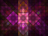 Stained Glass by razorjack51, Abstract->Fractal gallery