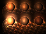 Chocolate Bubbles by razorjack51, Abstract->Fractal gallery