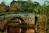 Old Warkworth bridge by biffobear, photography->bridges gallery