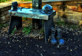 The Pitmans Cracket by biffobear, photography->sculpture gallery