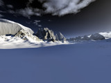 Mountain relief by Mannie3, computer->landscape gallery
