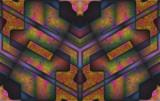Kaleidoscope Velociraptor by Flmngseabass, abstract gallery