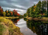 Autumn River Merger by Eubeen, photography->shorelines gallery