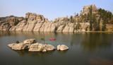 Sylvan Lake Red by Nikoneer, photography->shorelines gallery