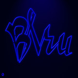 Electrique Bleu by Jhihmoac, illustrations->digital gallery