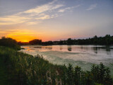 Sunset over Walnut Creek Lake by Pistos, photography->sunset/rise gallery