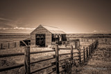 Old Ranch by DigiCamMan, contests->b/w challenge gallery