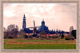 Middelburg (52), Seen From The Polder by corngrowth, Photography->City gallery