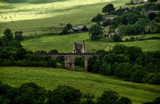 Edlingham Castle & Viaduct by biffobear, photography->castles/ruins gallery