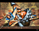 Graffiti #7 by Sivraj, photography->architecture gallery