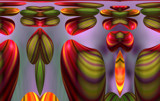 Tulip Tapestry by Flmngseabass, abstract gallery