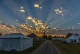 Sunset - Fort Atkinson Rendezvous Days 2017 by Mitsubishiman, photography->sunset/rise gallery