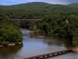 View From Bear Mountain Bridge by Jims, Photography->Bridges gallery