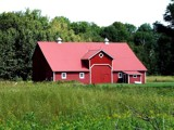 Very Red Barn-or Barn XIIII by cuddlebuddy48, Photography->Architecture gallery