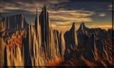 Dragon Tail Range by Foxfire66, Computer->Landscape gallery