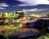 Natural Oasis by MrXwild, Computer->3D gallery