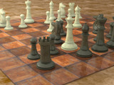 Checkmate! by noobguy, Computer->3D gallery