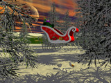 Christmas Eve Rest Stop by WENPEDER, Holidays->Christmas gallery