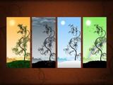 Seasons by vladstudio, Illustrations->Digital gallery
