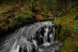Lower Hindhope falls by biffobear, Photography->Waterfalls gallery