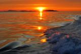 Splashy Sunset by Zava, photography->sunset/rise gallery