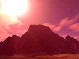 Pink Mountain by rhelms, Computer->Landscape gallery