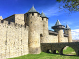 Carcassonne Gates by reddawg151, photography->castles/ruins gallery