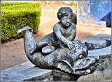 Gargoyle fountain by Mannie3, photography->sculpture gallery