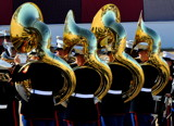 1st Marine Division Band - Sousaphone Section by J_E_F, photography->people gallery