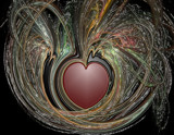 Candyfloss heart by mmynx34, Abstract->Fractal gallery