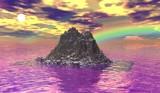 Rainbow Sky by qblake, Computer->3D gallery