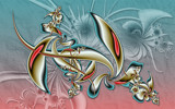 Cosmic Columbine by tealeaves, Abstract->Fractal gallery
