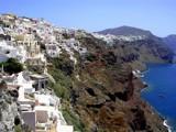 Santorini cliffs by Trin, photography->shorelines gallery