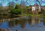 Morpeth Stepping Stones by biffobear, photography->landscape gallery