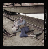 His family traveled with him on the freights 1939 by rvdb, photography->manipulation gallery