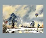 Last flight before Christmas by Trevorcardigan, Illustrations->Traditional gallery