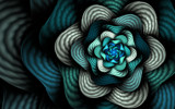 Seafoam Ripples by tealeaves, Abstract->Fractal gallery