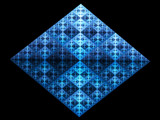 Blue Diamond by razorjack51, Abstract->Fractal gallery