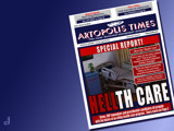 Artopolis Times - Health Care Woes by Jhihmoac, illustrations->digital gallery