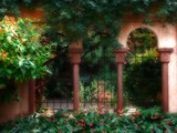 In a Spanish Garden by jojomercury, Photography->Architecture gallery