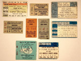 Concert Tickets by egggray, Photography->General gallery