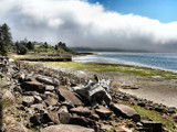 Ocean Cloud Mass!! by verenabloo, Photography->Shorelines gallery