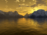 Alaskan Sunset by caedes, Computer->Landscape gallery