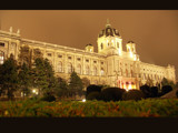 Vienna by night reprise - Art-History-Museum by boremachine, photography->castles/ruins gallery