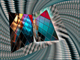Bi-Dimensional  Reflection by Flmngseabass, abstract gallery