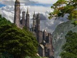 Iniskeep Castel in the Highlands Update. by DigitalFX, Computer->Landscape gallery