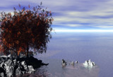 Autumn Island by u2ser, Computer->3D gallery