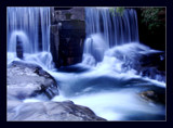 Blurred Wier by dmk, Photography->Waterfalls gallery